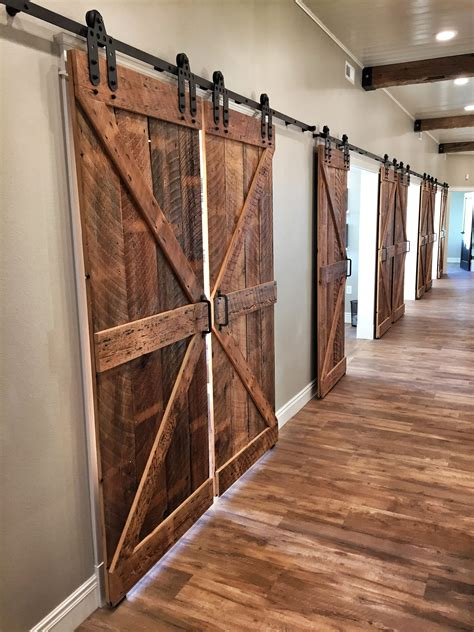 barn wood door sliding doors grain designs
