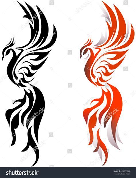 phoenix bird stock vector 412013722 shutterstock