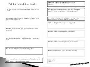 15 best images of self esteem therapy worksheets teen