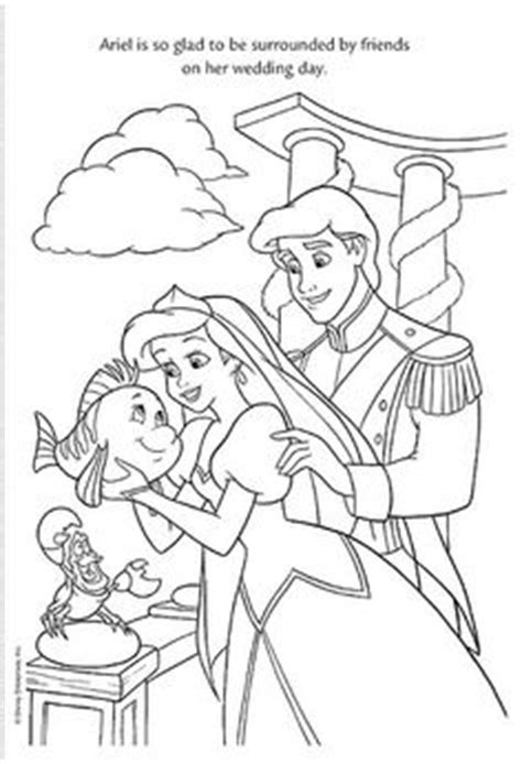 little mermaid wedding coloring pages coloring pages on pinterest coloring pages disney