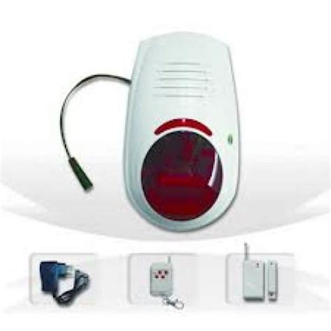 secure your home self install all in one alarm system