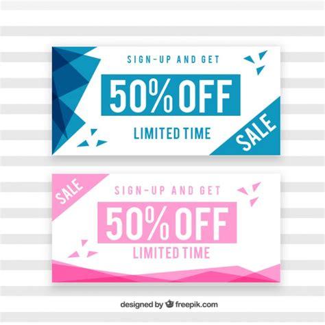 verkoop coupons met abstracte vormen vector gratis download - Te Koop Coupon