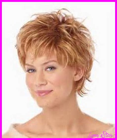 hair style for thin fine over 50 short hair cuts for women over with fine livesstar com