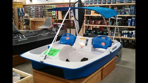 4 person pedal boat sun dolphin sun slider 5 person pedal boat review youtube