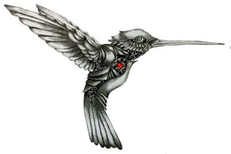 black and grey hummingbird tattoo black and white hummingbird tattoo military clipart just