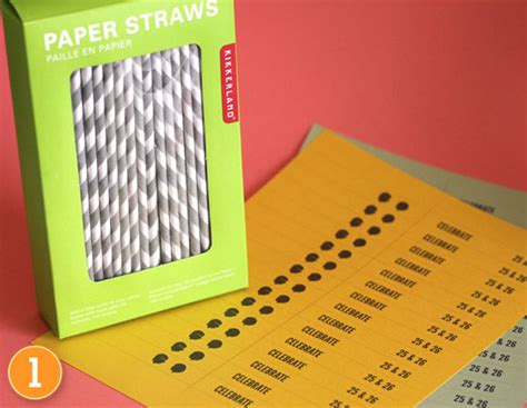 straw template hearts diy paper straw flags