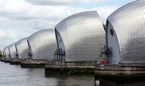 thames defence barrier new 163 28m flood defence system set up to help rare species