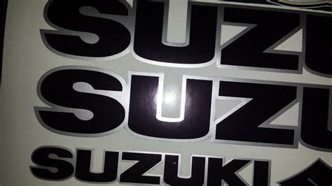 Suzuki Bandit Decals Suzuki Decals Stickers Black Silver Gsx Vstrom Bandit