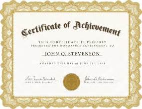 printable achievement certificate template certificate templates fotolip rich image and wallpaper