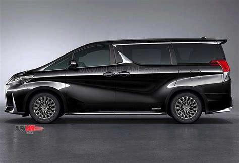 lexus mpv 2020 toyota alphard based lexus lm ultra luxurious mpv debuts