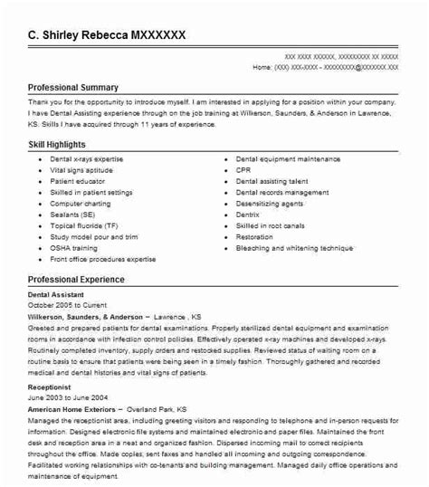 objective for resume medical receptionist resume example for