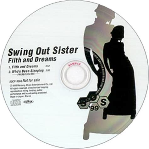 swing out sister shapes and patterns swing out sister filth and dreams japanese promo cd single