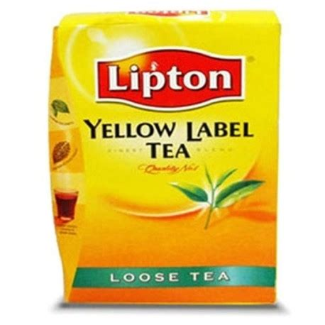 Teh Lipton Yellow Label lipton yellow label tea 200g from supermart ae