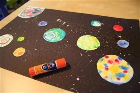 solar system arts and crafts for solar system preschool theme pics about space