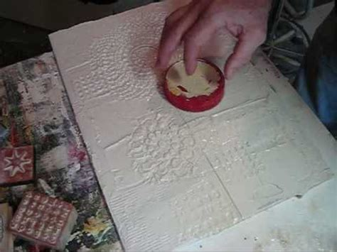 how to create texture in painting 2009 02 making the textures for my textured paintings