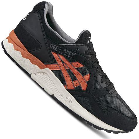 Asics Tiger Sneakers Black asics tiger gel lyte v unisex sneaker black chili