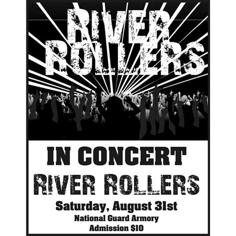 free templates for band posters create your own band poster templates