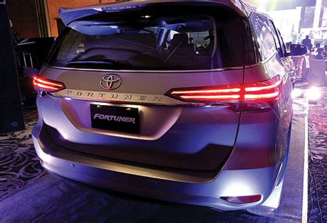 Fortuner K8107g B Black Gold Silver all new toyota fortuner previewed motoring business features the philippine philstar