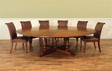 Extra large round dining room tables