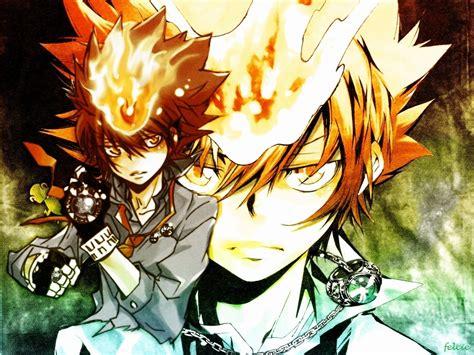 wallpaper anime reborn reborn image sawada quot tsuna quot tsunayoshi wallpaper