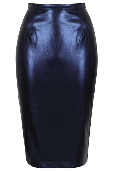 1000 ideas about faux leather pencil skirt on