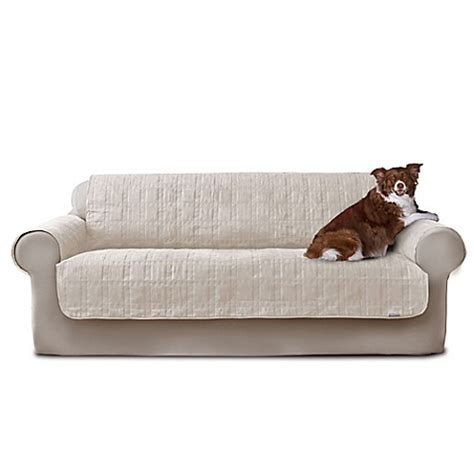 microsuede sofa cover buy quick cover 174 premium waterproof quilted microsuede