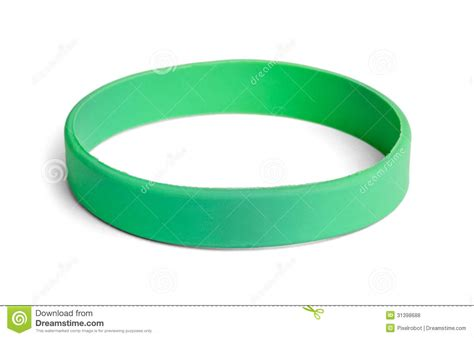 Green Wristband Royalty Free Stock Photos   Image: 31398688