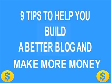 9 sneaky tips to help 9 tips to help you build a better and make more money