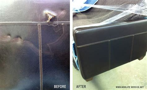 resurface leather sofa new service co of dallas new service co of