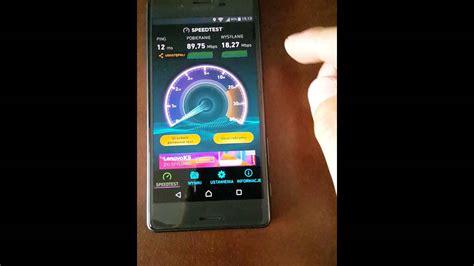 sony xperia x performance wifi speed test 2 4ghz vs 5ghz