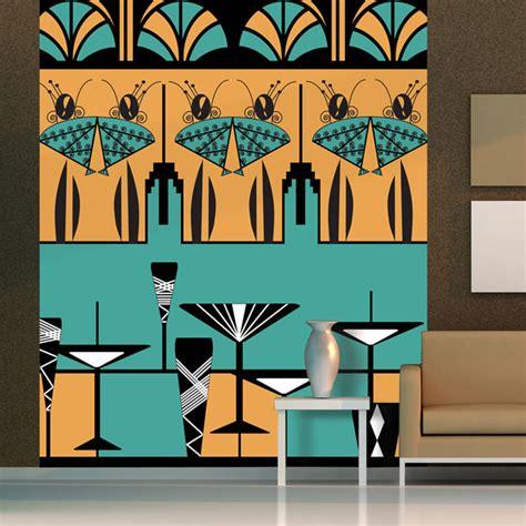 manhattan ladies art deco mural atadesignsatadesigns