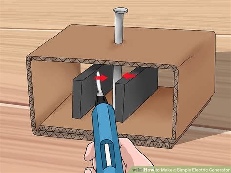 how to make a simple electric generator 10 steps with