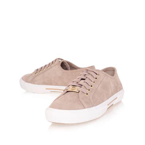 michael kors brown sneakers michael michael kors boerum sneaker in brown for lyst