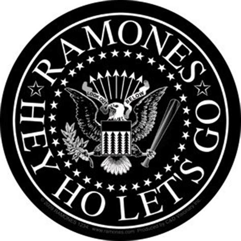 hey ho to mars we ll go a space age version of the farmer in the dell books the ramones rock band sticker hey