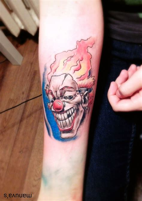 twisted metal tattoo top twisted metal sweet tooth images for