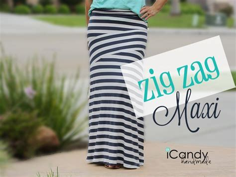zig zag sewing pattern icandy handmade pattern zig zag maxi diy fashion