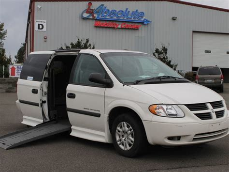 dodge wheelchair vans  sale  owner  woodinville absolute mobility center
