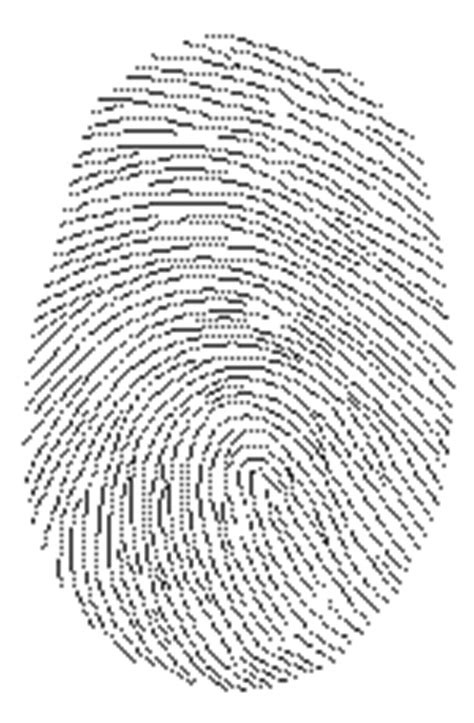 fingerprint id card template id with holograms scannable id
