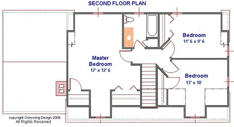 cape cod 2nd floor plans plan g070411