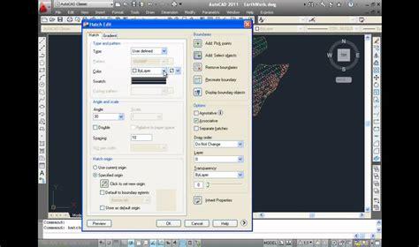 tutorial autocad hatch autocad tutorial hatch edit youtube