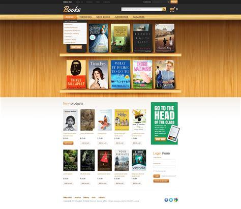 book store virtuemart template 36021