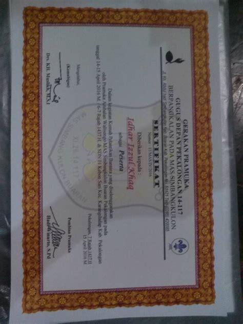Kertas Untuk Sertifikat jual beli kertas sertifikat piagam tebal concorde
