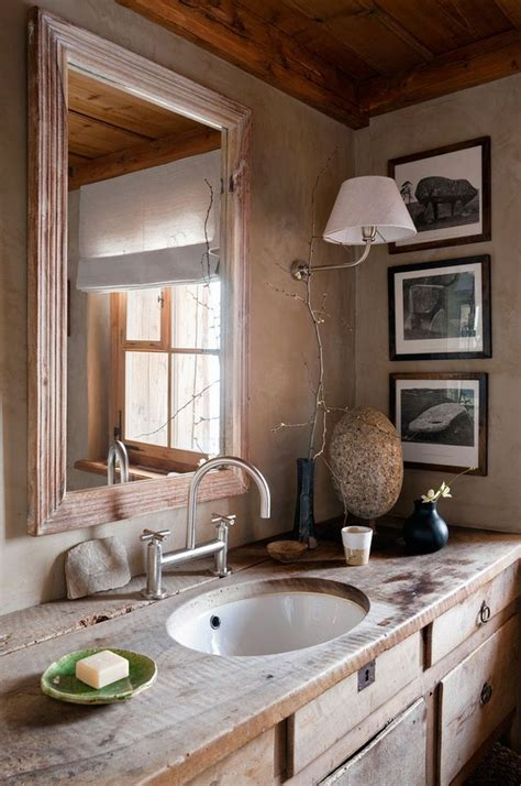 Ideas For Rustic Bathroom 39 Cool Rustic Bathroom Designs Digsdigs