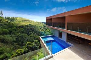 Brazilian Home Design Trends Cantilever House Design By Brazil Architecture Firm