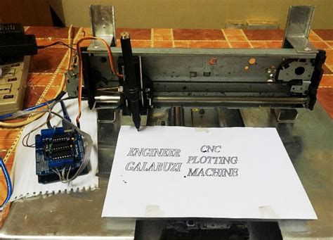 code arduino cnc diy arduino uno cnc plotter machine project with code and