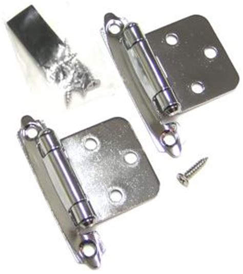 Chrome Cabinet Hinges by Cabinet Hinge Semi Concealed Polished Chrome Hr10000pc02p