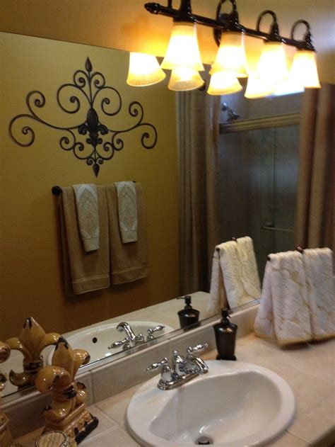fleur de lis home decor bathroom vanity this fleur de lis metal wall shelf towel bar from