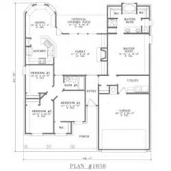 2 Bedroom House Floor Plans Type Of House House Plans