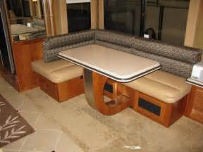 Rv Dining Tables Rv Mod One Of A Rv Dinette Table And Space Saving