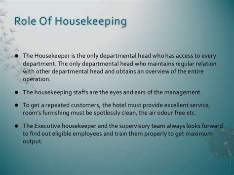 layout of housekeeping presentation housekeeping department clip art cliparts